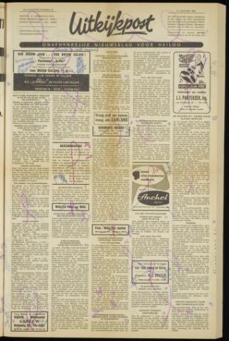 Uitkijkpost : nieuwsblad voor Heiloo e.o. 1962-01-11