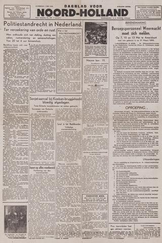 Dagblad Noord-Holland, Schager editie 1943-05-01