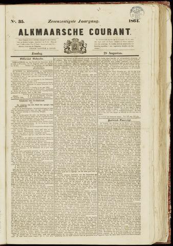 Alkmaarsche Courant 1864-08-28