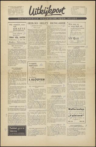Uitkijkpost : nieuwsblad voor Heiloo e.o. 1956-11-16