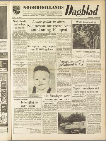 Noordhollands Dagblad : dagblad voor Alkmaar en omgeving 1960-04-14