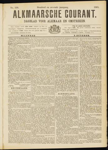 Alkmaarsche Courant 1905-10-02