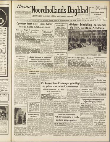 Nieuw Noordhollandsch Dagblad : voor Alkmaar en omgeving 1949-07-15