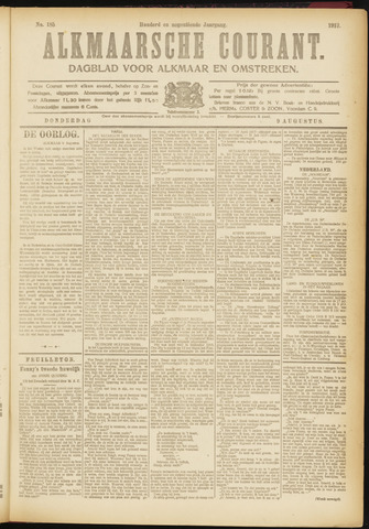 Alkmaarsche Courant 1917-08-09