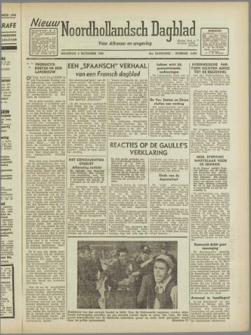 Nieuw Noordhollandsch Dagblad : voor Alkmaar en omgeving 1946-11-04