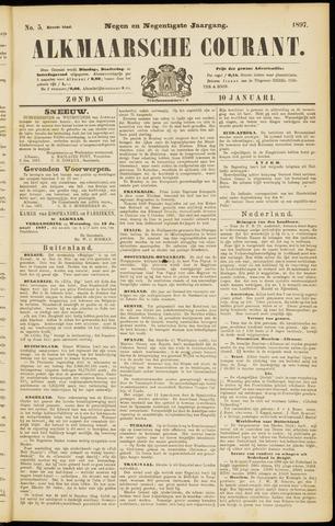 Alkmaarsche Courant 1897-01-10