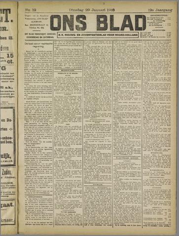 Ons Blad : katholiek nieuwsblad voor N-H 1918-01-29