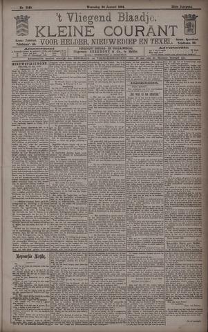 Vliegend blaadje : nieuws- en advertentiebode voor Den Helder 1894-01-24