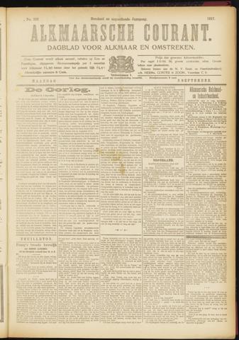 Alkmaarsche Courant 1917-09-03