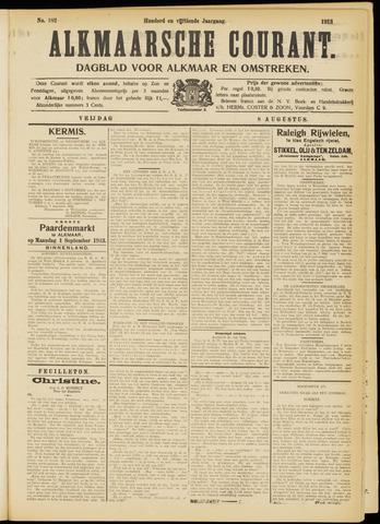 Alkmaarsche Courant 1913-08-08