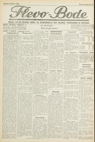 Flevo-bode: nieuwsblad voor Wieringen-Wieringermeer 1948-10-09