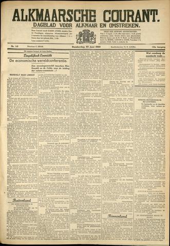 Alkmaarsche Courant 1933-06-22