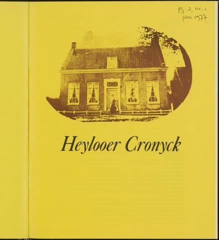 Heylooer Cronyck 1977-06-01