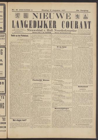 Nieuwe Langedijker Courant 1927-08-16