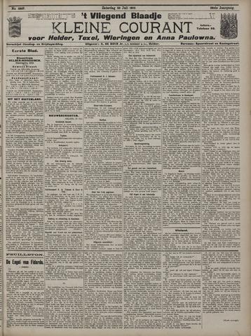 Vliegend blaadje : nieuws- en advertentiebode voor Den Helder 1910-07-23