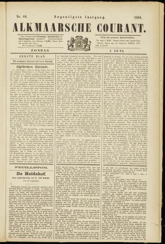 Alkmaarsche Courant 1888-06-03