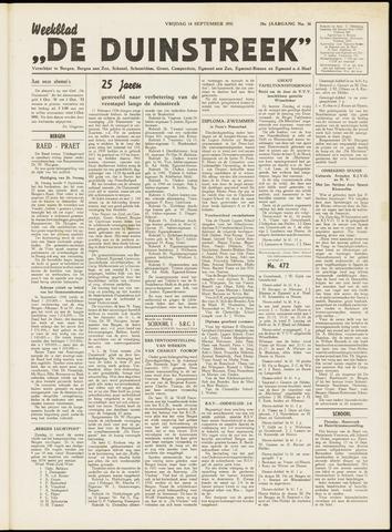 De Duinstreek 1951-09-14