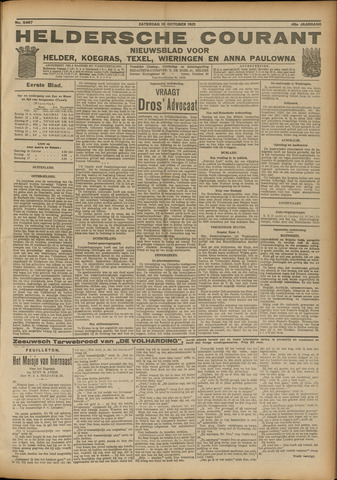 Heldersche Courant 1921-10-15
