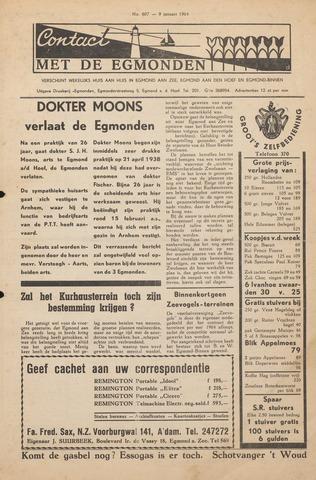 Contact met de Egmonden 1964-01-09