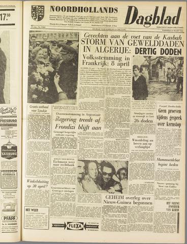 Noordhollands Dagblad : dagblad voor Alkmaar en omgeving 1962-03-21