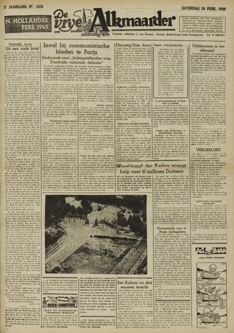 De Vrije Alkmaarder 1949-02-26