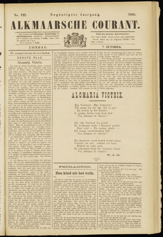 Alkmaarsche Courant 1888-10-07