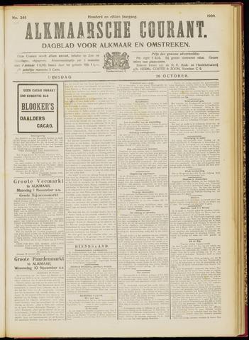 Alkmaarsche Courant 1909-10-26