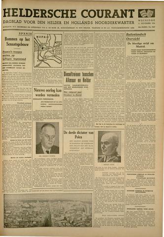Heldersche Courant 1936-11-11