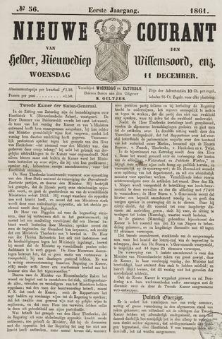 Nieuwe Courant van Den Helder 1861-12-11