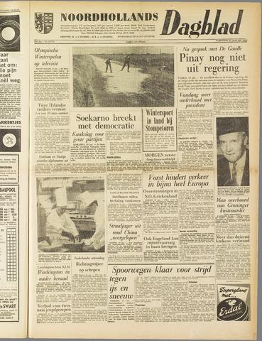 Noordhollands Dagblad : dagblad voor Alkmaar en omgeving 1960-01-13