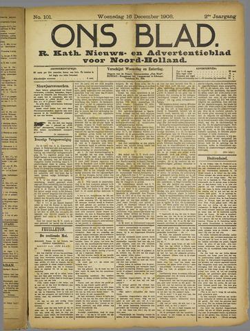Ons Blad : katholiek nieuwsblad voor N-H 1908-12-16