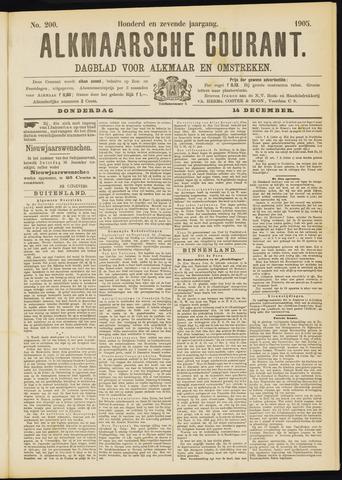 Alkmaarsche Courant 1905-12-14