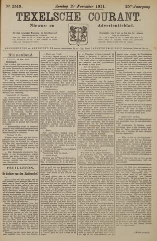 Texelsche Courant 1911-11-19
