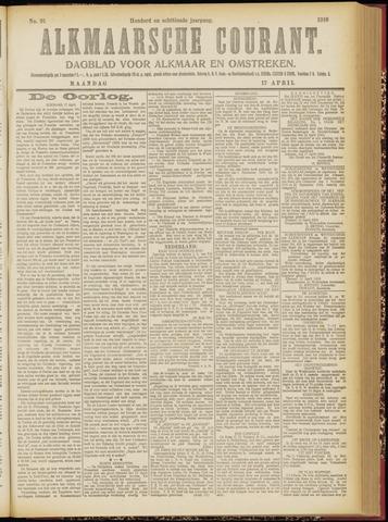 Alkmaarsche Courant 1916-04-17