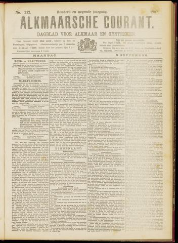 Alkmaarsche Courant 1907-09-09