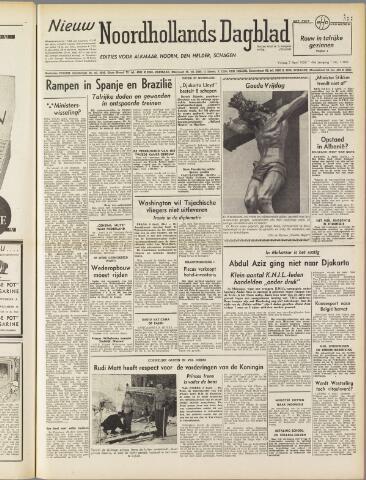 Nieuw Noordhollandsch Dagblad : voor Alkmaar en omgeving 1950-04-07