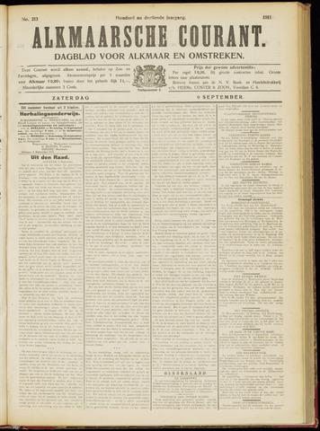 Alkmaarsche Courant 1911-09-09