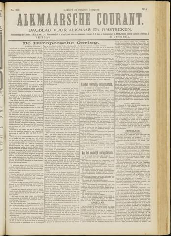 Alkmaarsche Courant 1914-10-30