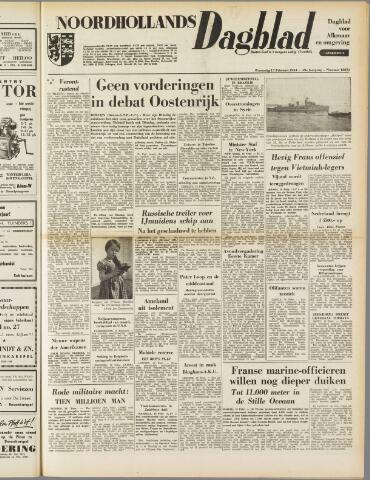 Noordhollands Dagblad : dagblad voor Alkmaar en omgeving 1954-02-17