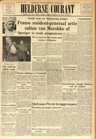 Heldersche Courant 1953-08-21