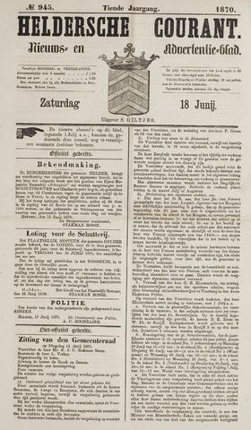 Heldersche Courant 1870-06-18