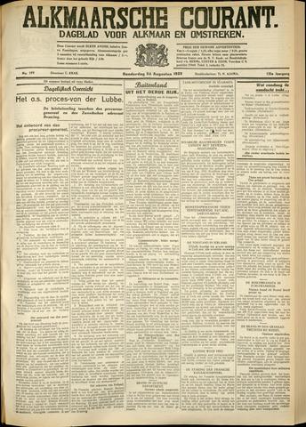 Alkmaarsche Courant 1933-08-24