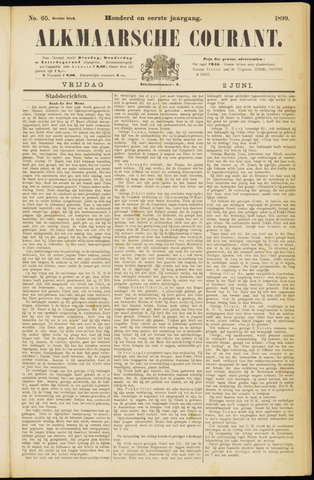 Alkmaarsche Courant 1899-06-02