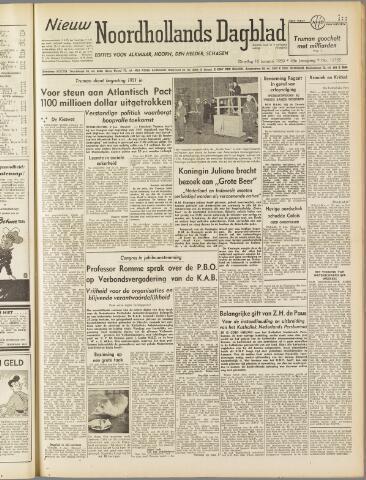 Nieuw Noordhollandsch Dagblad : voor Alkmaar en omgeving 1950-01-10