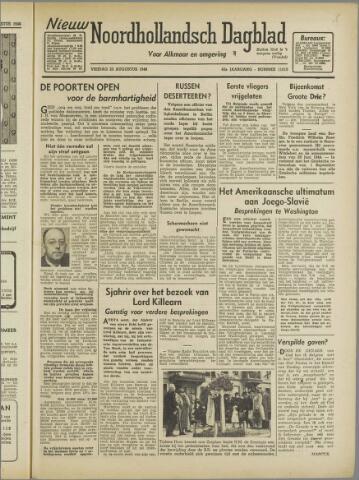 Nieuw Noordhollandsch Dagblad : voor Alkmaar en omgeving 1946-08-23