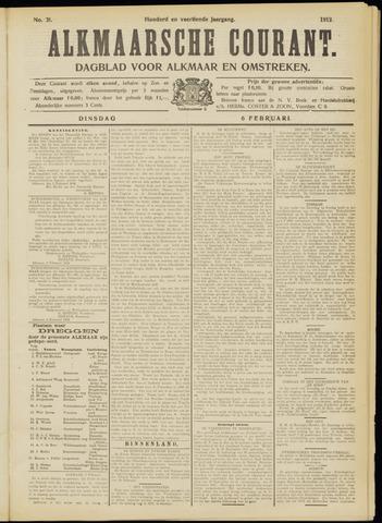 Alkmaarsche Courant 1912-02-06