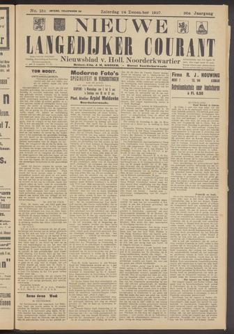 Nieuwe Langedijker Courant 1927-12-24