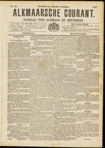 Alkmaarsche Courant 1907-01-25