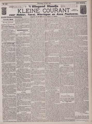 Vliegend blaadje : nieuws- en advertentiebode voor Den Helder 1912-06-19