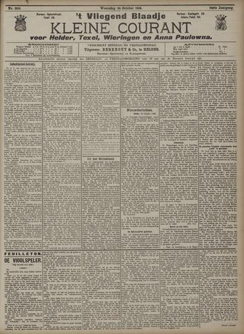 Vliegend blaadje : nieuws- en advertentiebode voor Den Helder 1906-10-24